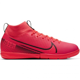 Nike Mercurial Superfly 7 Academy Ic Jr AT8135-606 indoor shoes red red