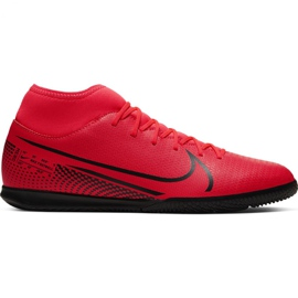 Nike Mercurial Superfly 7 Club Ic M AT7979-606 indoor shoes red red
