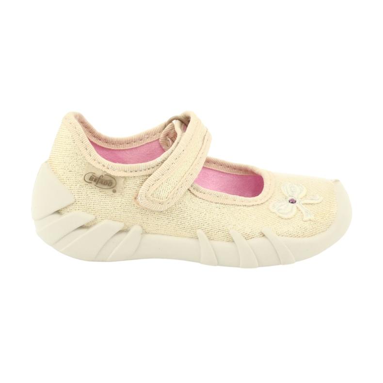 Befado children's shoes 109P152 yellow