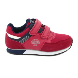 American Club American RH20 red sports shoes white navy