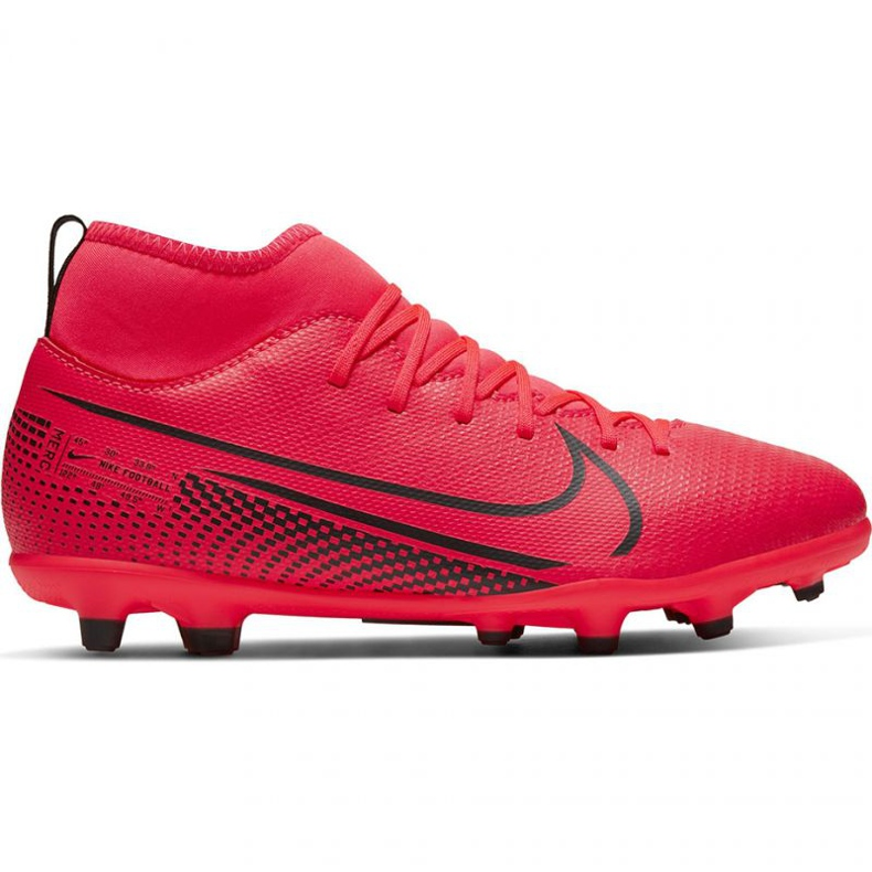 Nike Mercurial Superfly 7 Club FG / MG Jr AT8150-606 football shoes red red