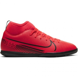 Nike Mercurial Superfly 7 Club Ic Jr AT8153-606 indoor shoes multicolored red