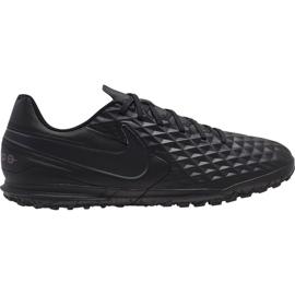 Nike Tiempo Legend 8 Club Tf M AT6109-010 football shoes black black