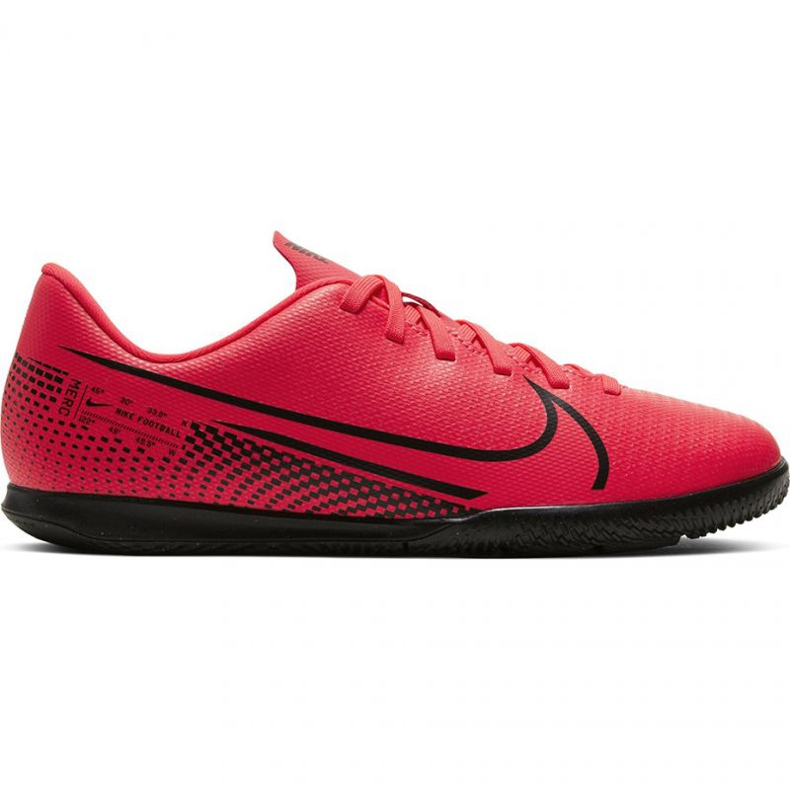 Nike Mercurial Vapor 13 Club Ic Jr AT8169-606 indoor shoes red red