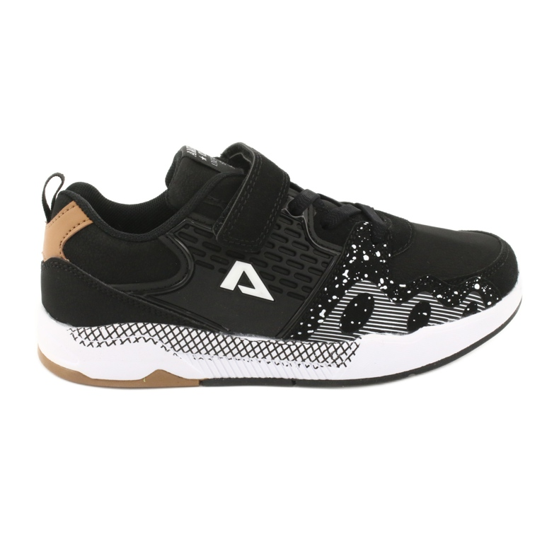 American club children's sports shoes BS03 black white