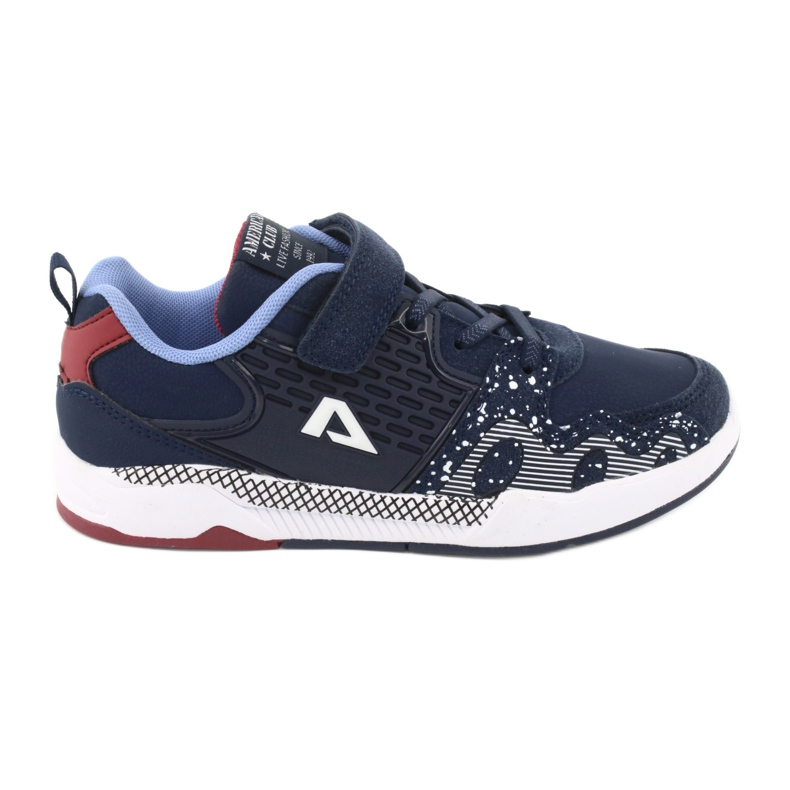American club children's sports shoes BS03 navy blue white