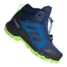 Adidas Terrex Mid Gtx Jr EF2248 shoes navy blue multicolored
