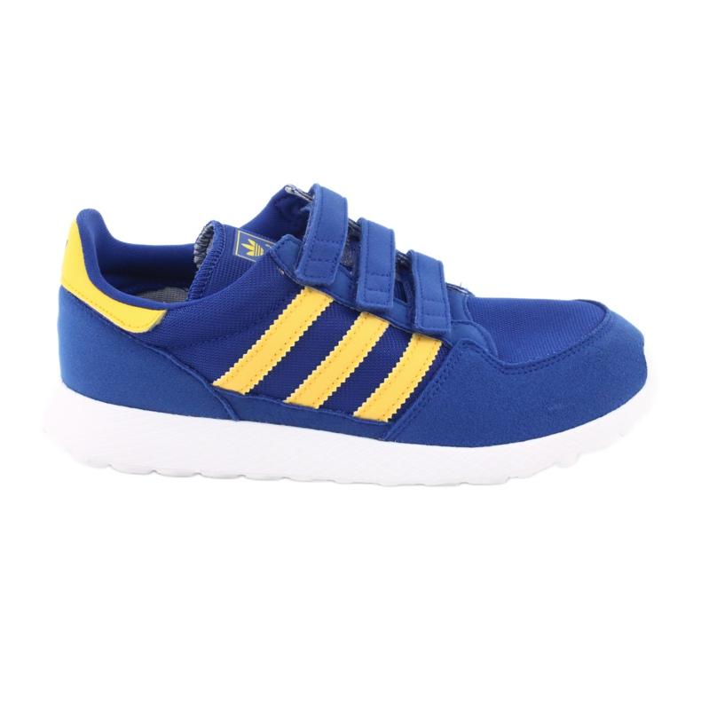 Adidas Originals Forest Grove Cf Jr CG6804 blue yellow
