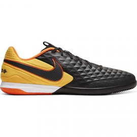 Nike Tiempo React Legend 8 Pro Ic M AT6134-008 indoor shoes black multicolored