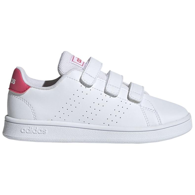 Adidas Advantage C Jr EF0221 shoes white