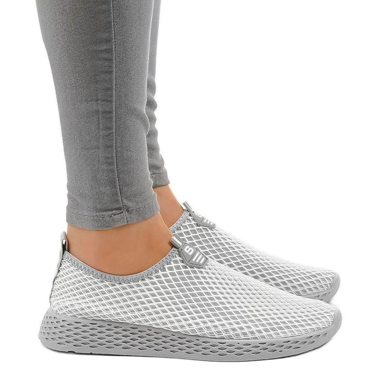 Gray SJ1890-2 women's sports shoes grey