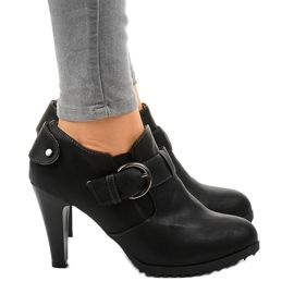 Black boots on the post with A-25A buckle