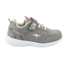 Light KangaROOS 02051 gray sneakers pink grey