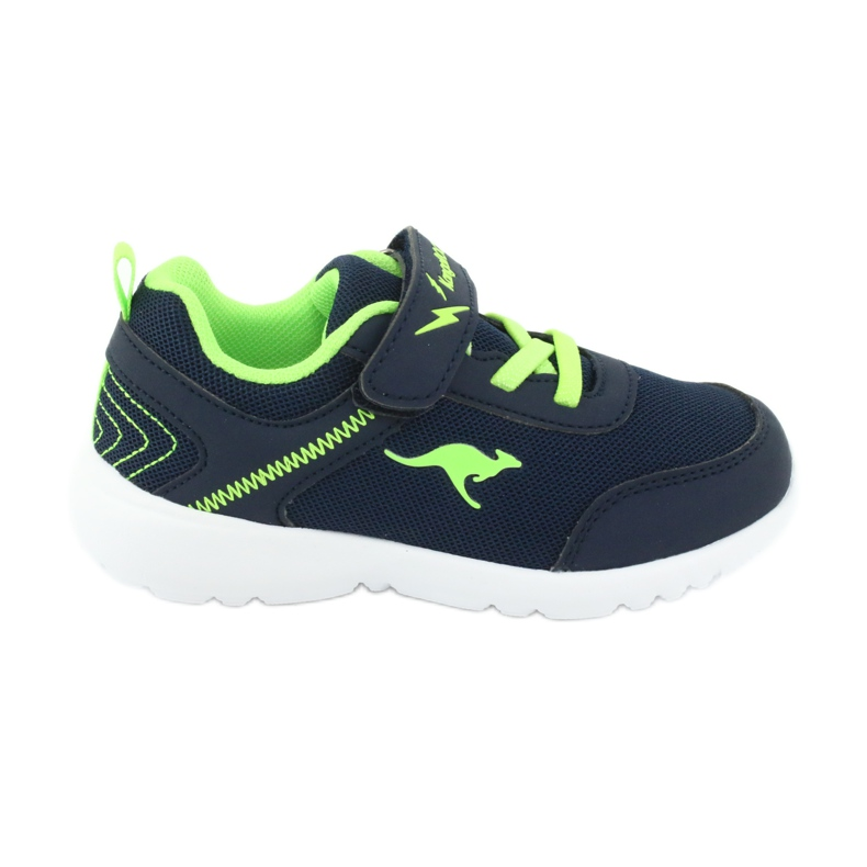 Light KangaROOS 02050 navy blue sports shoes green
