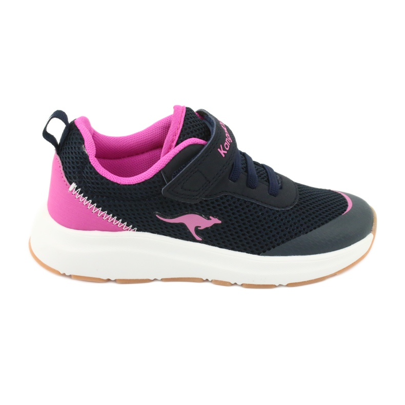 KangaROOS sports shoes with Velcro 18507 navy / pink