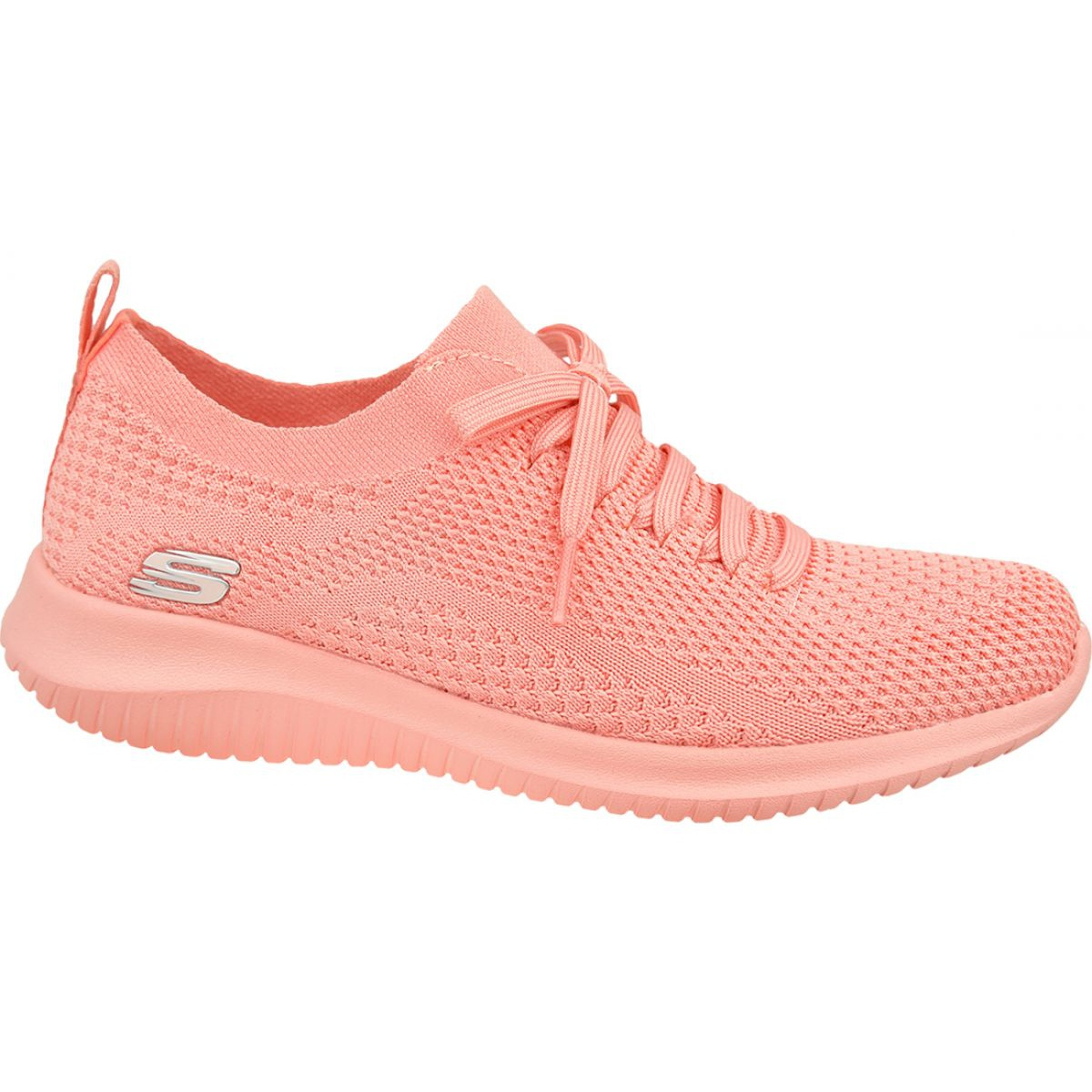 hilo Permeabilidad ir de compras  Skechers Ultra Flex Pastel Party W 13098-CRL shoes pink - ButyModne.pl