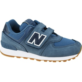 New Balance Jr YV574PRN shoes blue