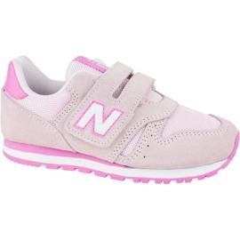 New Balance Jr YV373SP shoes pink