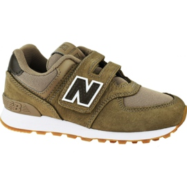 New Balance Jr YV574PRB shoes brown