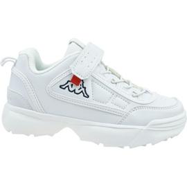 Kappa Rave Nc K Jr 260782K-1010 shoes white