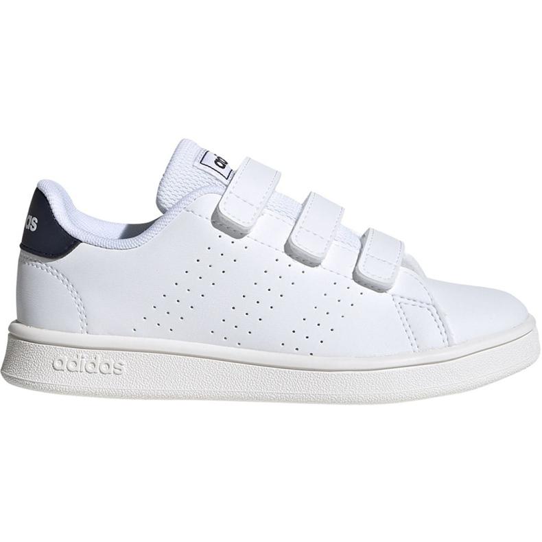 Adidas Advantage C Jr FW2589 shoes white