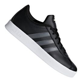 Adidas Vl Court 2.0 Jr F36381 shoes black