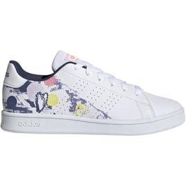 Adidas Advantage K Jr EG2000 shoes white