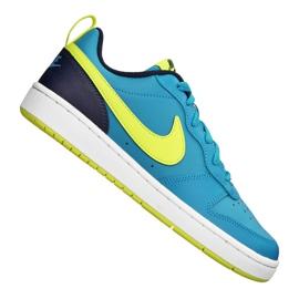 Nike Court Borough Low 2 Jr BQ5448-400 shoes blue