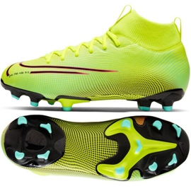 Nike Mercurial Superfly 7 Academy Mds FG / MG Jr BQ5409-703 football shoes yellow yellow