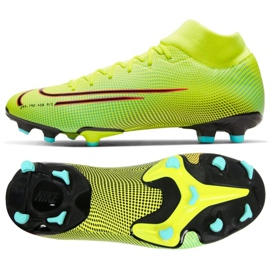 Nike Mercurial Superfly 7 Academy Mds FG / MG M BQ5427-703 football shoes yellow yellow