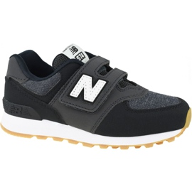 New Balance Jr YV574DMK shoes black