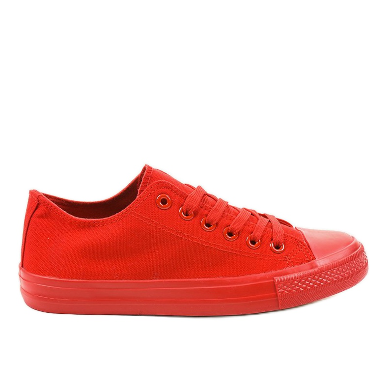Red classic men's sneakers MC1-A5