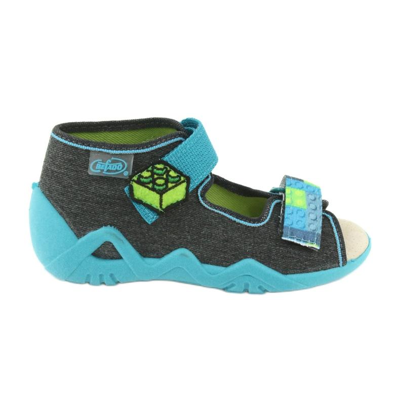 Befado yellow children's shoes 350P006