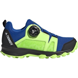 Adidas Terrex Agravic Boa K Jr EE8475 shoes navy blue multicolored green