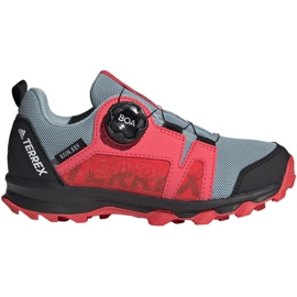 Adidas Terrex Agravic Boa K Jr EH2687 shoes red grey