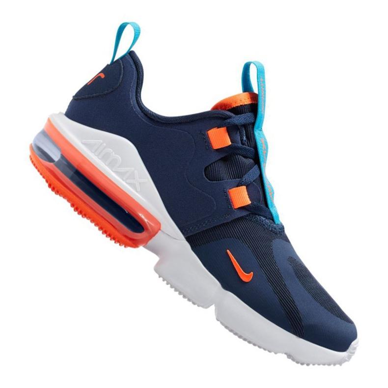 Nike Air Max Infinity Jr BQ5309-400 shoes navy