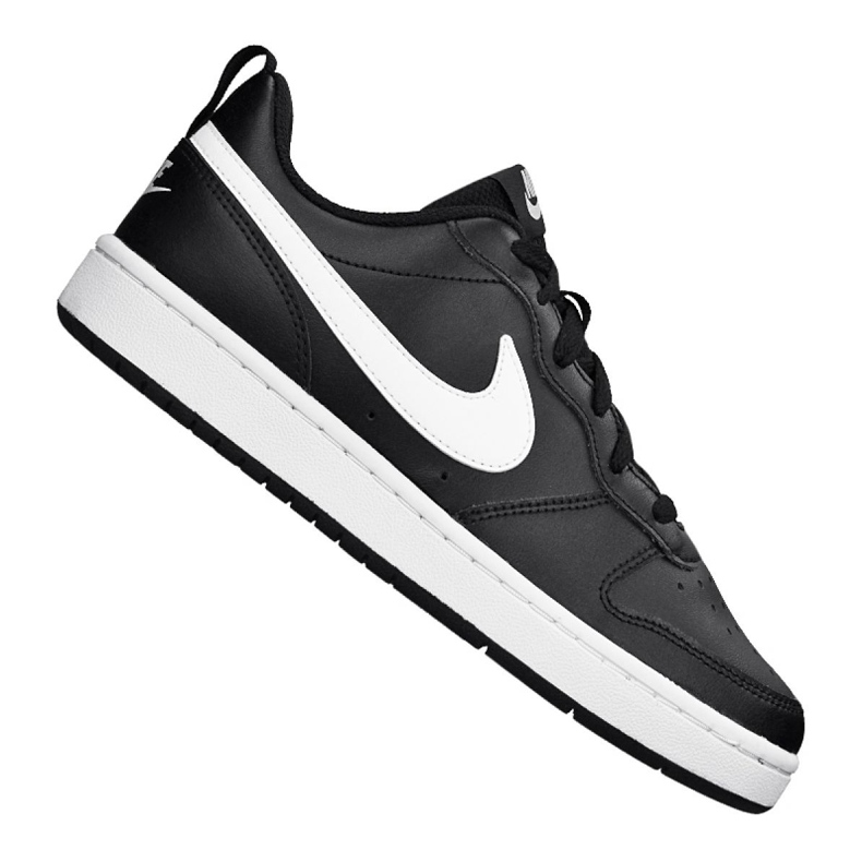 Nike Court Borough Low 2 (GS) Jr BQ5448-002 shoes black
