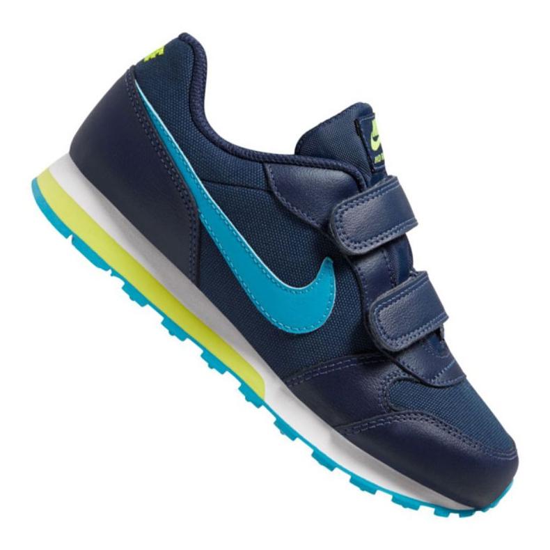 Nike Md Runner 2 Psv Jr 807317-415 shoes navy