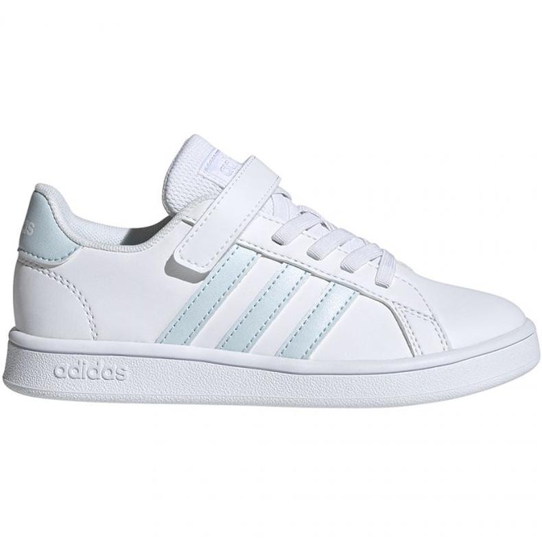 Adidas Grand Court C Jr EG6738 shoes white