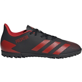 Adidas Predator 20.4 Tf EE9585 football shoes black white
