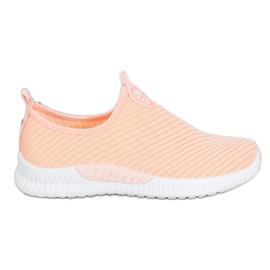 SHELOVET Slip-on Sport Shoes orange
