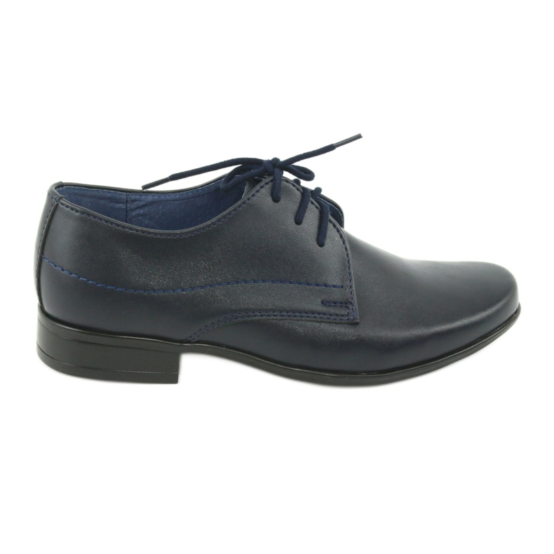 Gregors 429 navy blue communion slippers