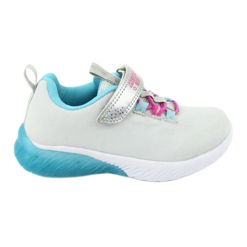 American Club blue ES14 gray sport shoes pink grey
