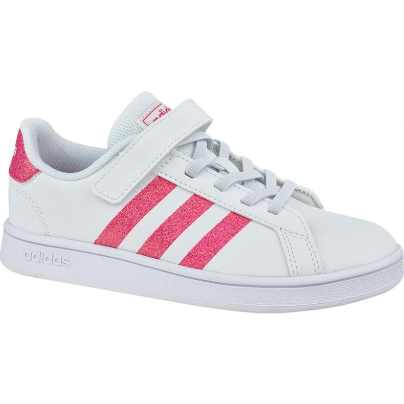 Adidas Grand Court K Jr EG3811 shoes white
