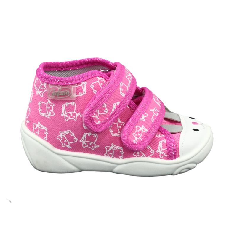Befado orange children's shoes 212P066 pink