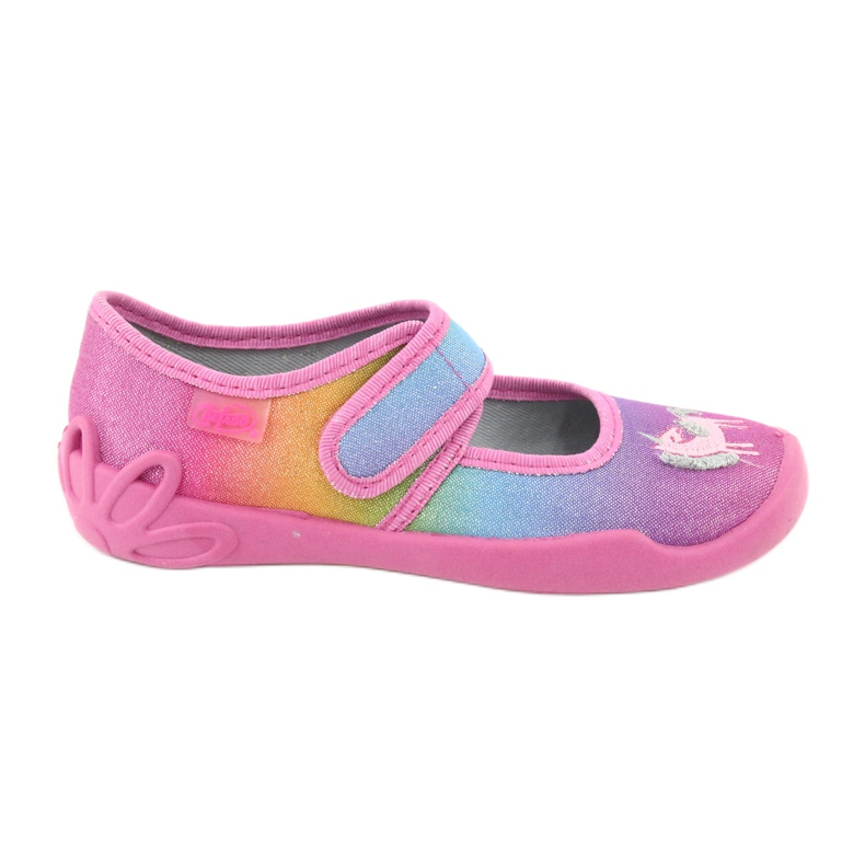 Befado children's shoes 123X048 pink multicolored