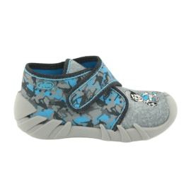 Befado children's shoes 523P014 blue grey multicolored