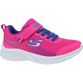 Skechers Microspec K Jr 302016L-PKPR shoes pink