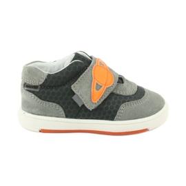 Bartek 71141 Velcro sneakers orange grey
