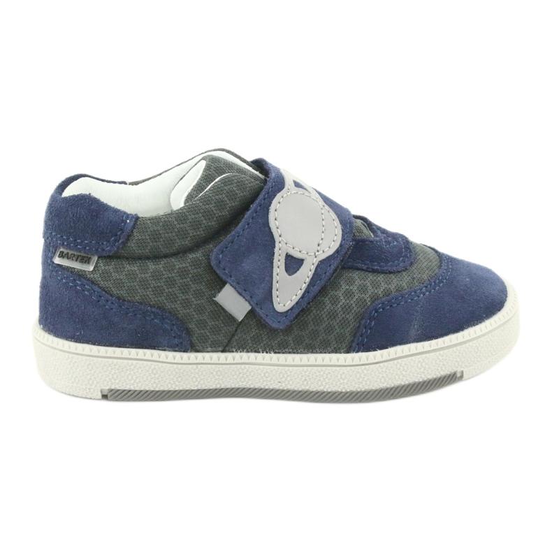 Bartek sports shoes sneakers Velcro 71141 navy grey